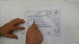 Cartina 5d.Carteggio Maxi Lezione N 1 Dalla Carta Nautica 5d Alla Stima Youtube