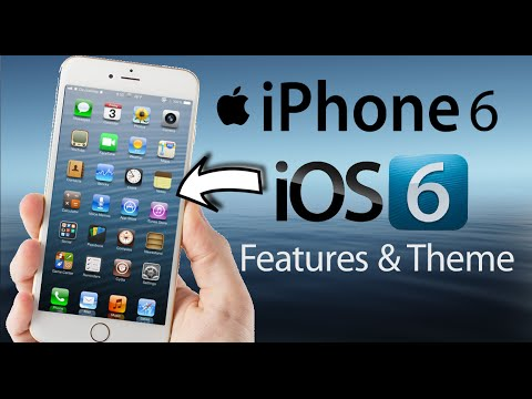 iOS 6 Features on iPhone 6 Plus, 6, 5, 5s in iOS 8
