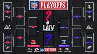 Full NFL Playoff Predictions (Round By Round NFL Playoff Picks) Super Bowl Prediction