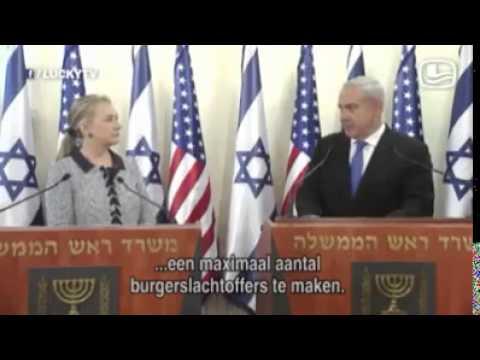 Israeli Prime Minister Benjamin Netanyahu admits to purposely killing civilians in Gaza!