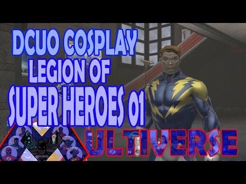 DCUO Cosplay; Legion of Super Heroes 01