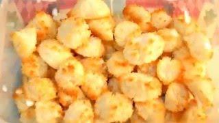 DIY Christmas Candy - Kokosky (Coconut Meringue)