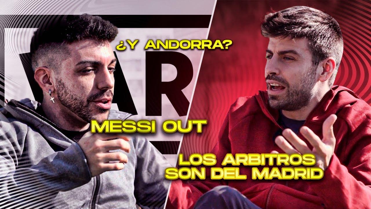 Download DjMaRiiO y PIQUÉ ... ¿MESSI OUT?¿LOS ÁRBITROS AYUDAN AL REAL MADRID?