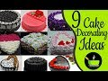 9 Cake Decorating Tutorials | Cake Decorating Ideas | Homemade Easy Cake Designs