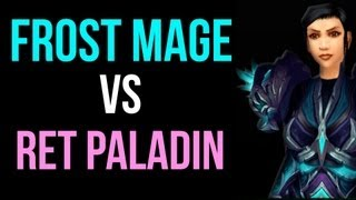 Frost Mage vs Ret Paladin Tutorial by Cartoonz (World of Warcraft PvP / Commentary)