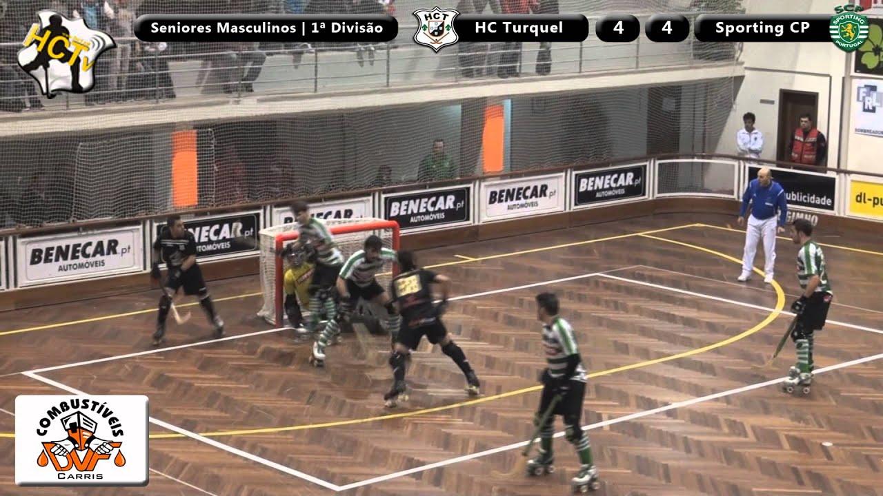Hoquei Patins :: 13J :: Turquel - 4 x Sporting - 4 de 2012/2013