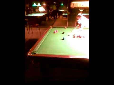Me playing snooker