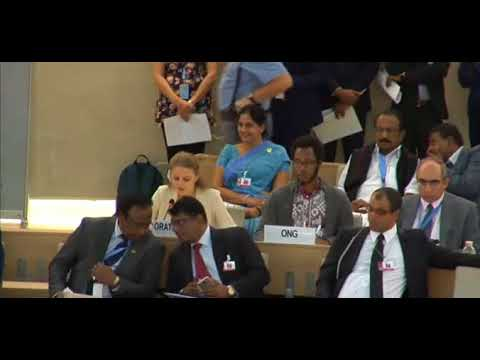 36th Session Human Rights Council - General Debate Item 9 - Ms. Lisa-Marlen Gronemeier