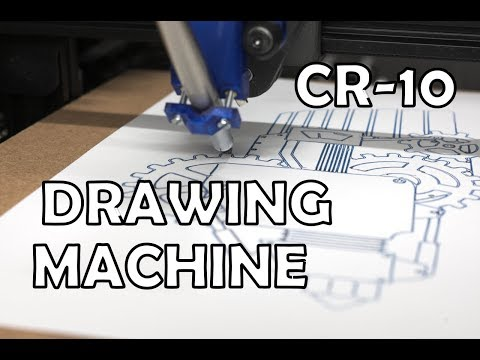 Turn Your Creality Printer Into A Drawing Machine!