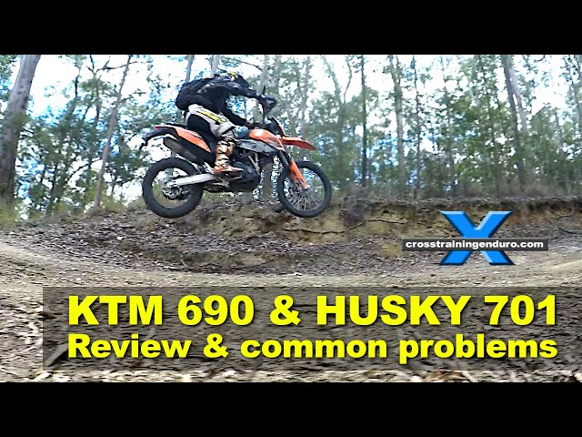 KTM 690R HUSQVARNA 701 REVIEW, KNOWN ISSUES & PROBLEMS