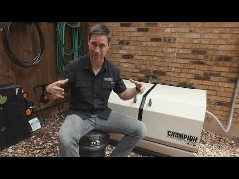 Watch Matt Risinger explain the buying and installation process for home standby generators.