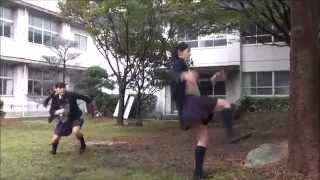 映画「ハイキック・エンジェルス」の撮影メイキング映像を公開! 2014/1...