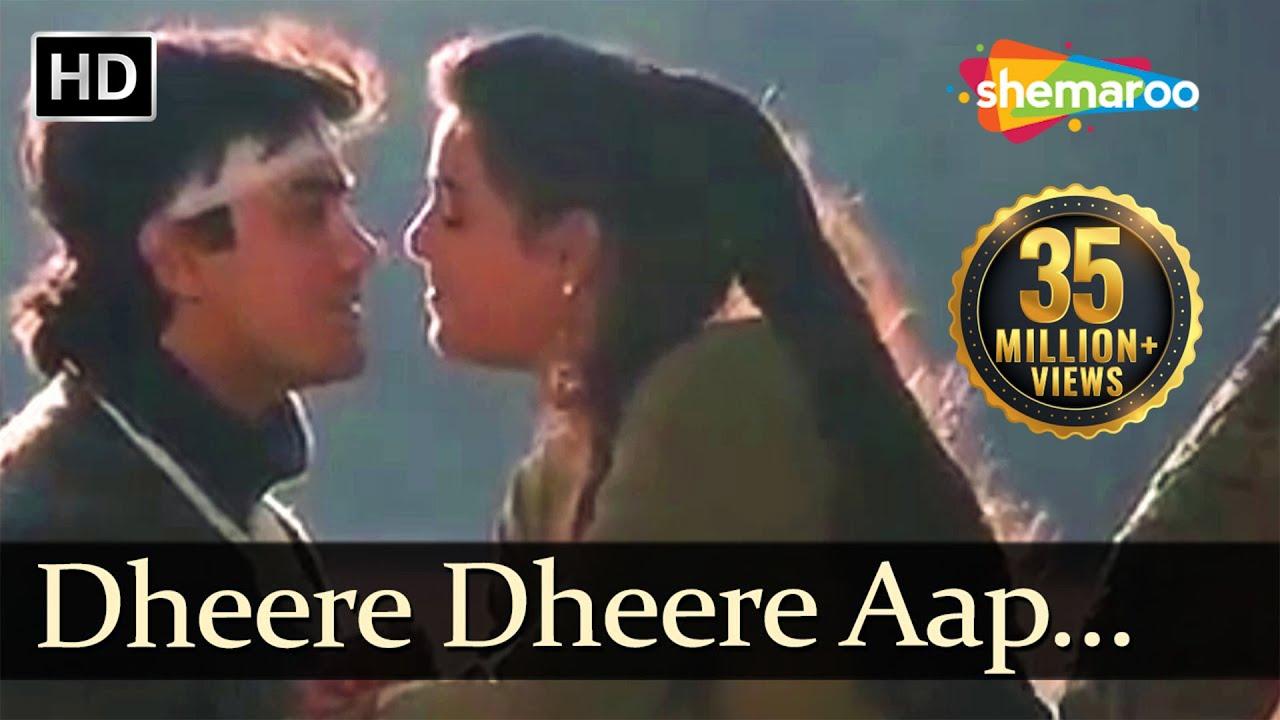 Download Dheere Dheere Aap Mere | Baazi (1995) Songs | Aamir Khan | Mamta Kulkarni