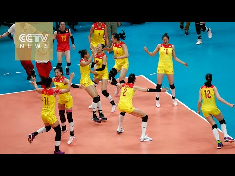 Rio 2016:China claims gold medal in women's volleyball
