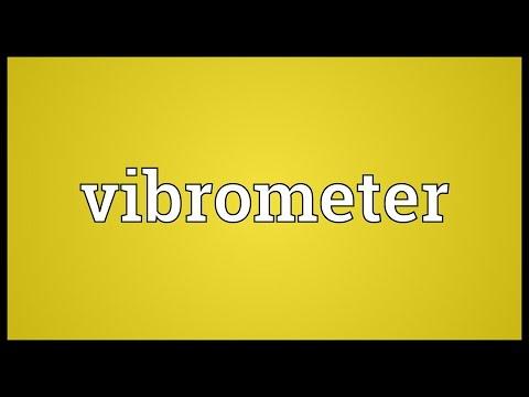 Header of vibrometer