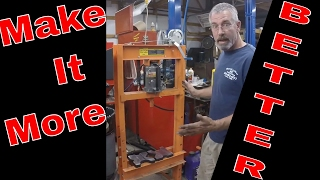 Harbor Freight 20 Ton Press Modifications
