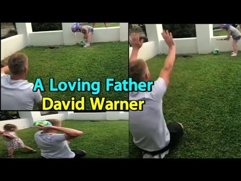 Viral Video: David Warner Playing Cricket With Daughters is Winning The Internet  Sports Tak
