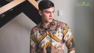 Agrapana Batik Slim Fit Pria Slimfit Baju Batik Pria Lengan Pendek Kemeja Batik Pria Lengan Pendek Modern Solo Premium Pekalongan Couple Pria Bhamana