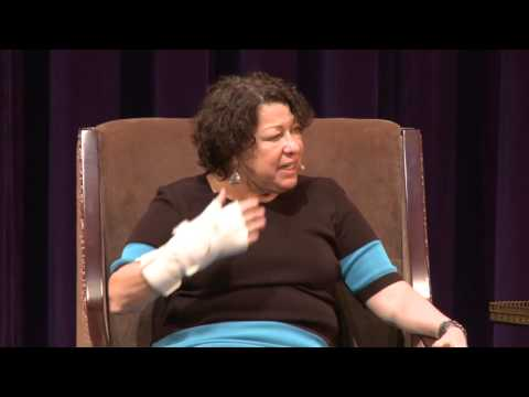 Justice Sonia Sotomayor Fireside Chat HD