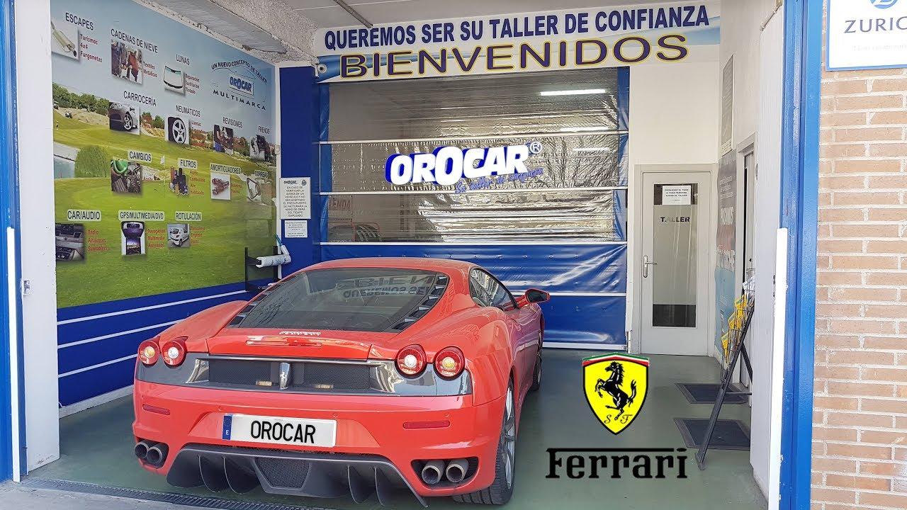 Reparacion De Chapa Y Pintura Ferrari F430 Chapa Y Pintura Madrid