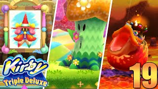 Kirby Triple Deluxe #19 | ¡Revancha contra jefes!