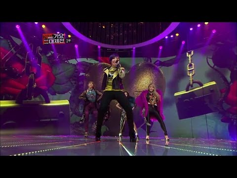 【TVPP】2NE1 - I Love You (with Lee Hi), 투애니원 - 아이 러브 유 (with 이하이) @ 2012 KMF Live