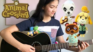 Animal Crossing Medley  Fingerstyle Guitar Cover by Lanvy