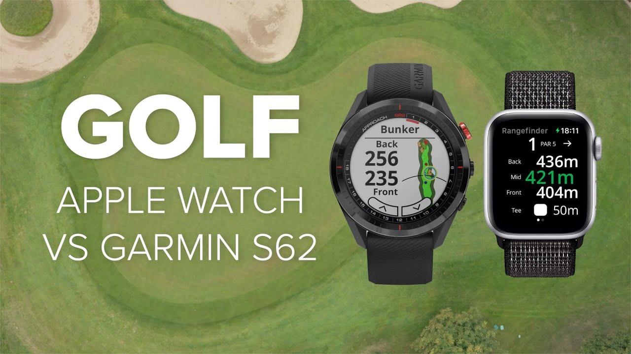 Apple Watch als Golfuhr: Fore im Vergleich mit der Garmin Approach S62 | Computer Bild [deutsch]