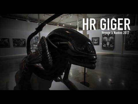 HR Giger au Lieu Unique / Voyage à Nantes 2017