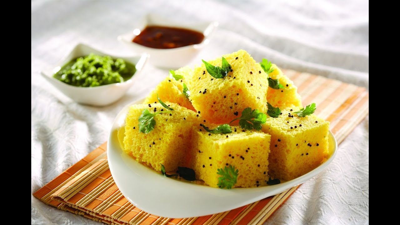 Dhokla recipe inspired by sanjeev kapoor hindi youtube forumfinder Images