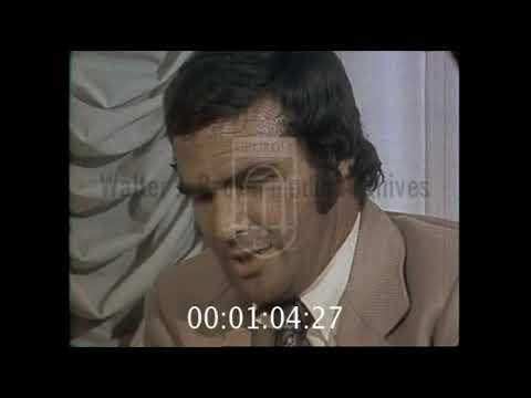 Burt Reynolds  with WSBTV in 1972