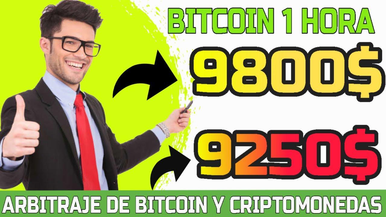 Arbitraje bitcoin bot