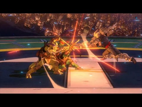 Teenage Mutant Ninja Turtles Mutants in Manhattan: All Scenes +Bosses +Secret Final Boss(PS4/1080p)