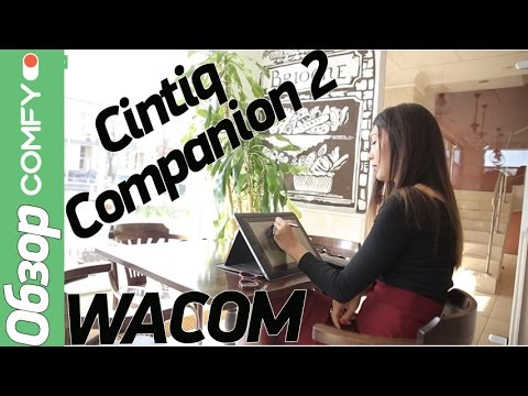 Wacom Cintiq Companion 2 - производительный графический планшет с 2К-дисплеем - Обзор от Comfy.ua
