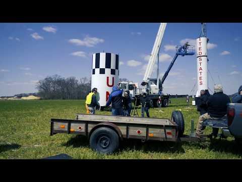 Stanley Black & Decker Guinness World Record model rocket launch