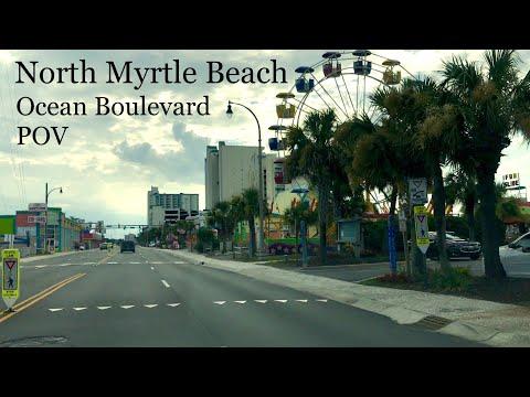 Ocean Boulevard POV July 2017 - North Myrtle Beach | Attractions
