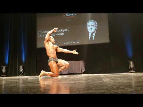 The First IFBB Ben Weider Natural Pro Champion