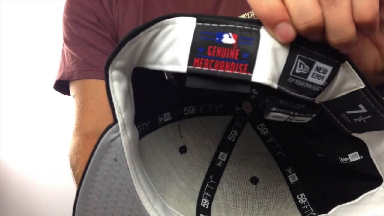 bf6612cf2c934f MLB 'UMPIRE' Black Hat by New Era - YouTube
