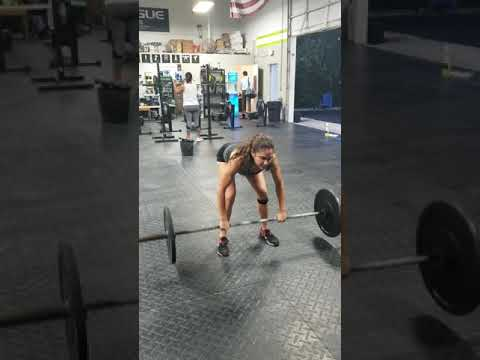 Bar-Over Burpees / Bent-Over Row