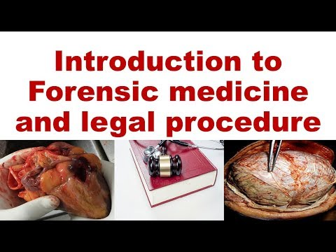 Introduction to forensic medicine and legal procedure by Dr Sunil Duchania