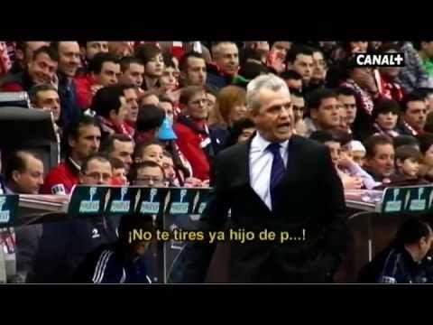 Javier Aguirre se enfada en el Sporting - Real Zaragoza