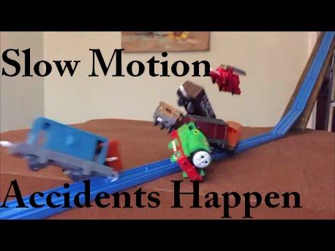 Thomas and Friends - Accidents Happen in Slow Motion