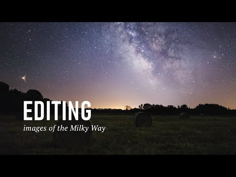 Editing Milky Way Photos In Both Lightroom And Photoshop.