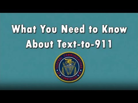 Text to 9-1-1 (American Sign Language)