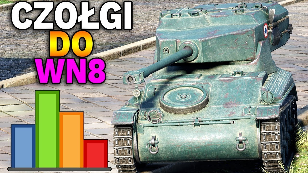 CZOŁGI DO ROBIENIA WN8 – AMX 12 t – World of Tanks