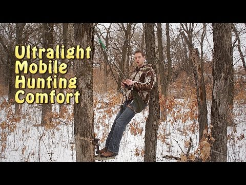 DIY Hunting Saddle  - Rock Harness With SitDrag