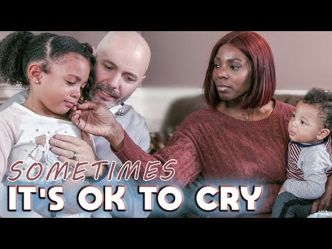 WHEN CRYING IS A GOOD THING
