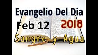 Evangelio del Dia- Lunes 12 Febrero 2018- Por Que Las Pruebas- Sangre y Agua