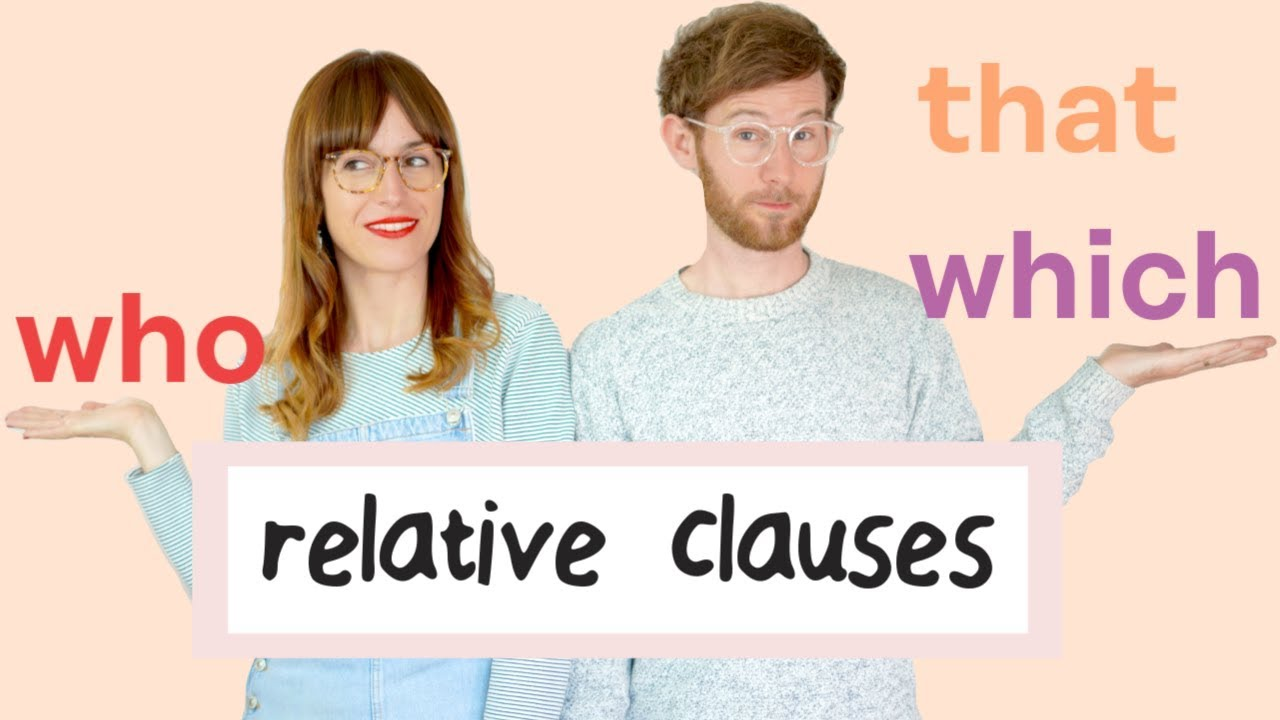 Download RELATIVE CLAUSES: who, which, that 👌 Easy peasy!    Gramática inglesa