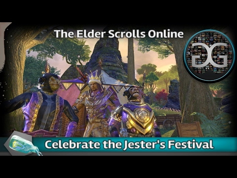 The Elder Scrolls Online - Celebrate the Jester's festival